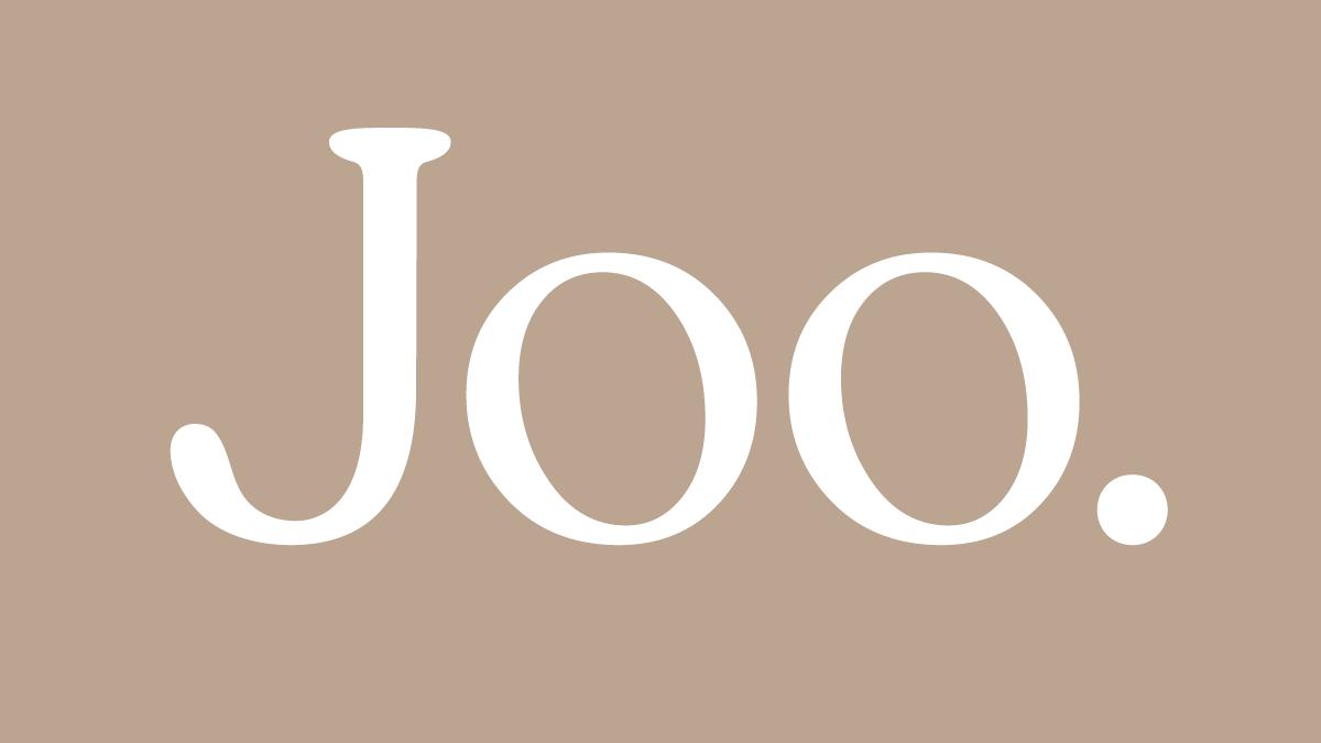 Kuvistuskuva Joo-logolla.